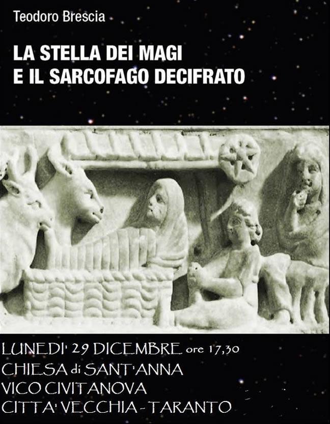 presentazione a Taranto a cura dell'ARCHEOCLUB e CRA LECCE
